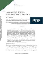 Practising Anthropology in India