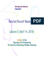 2016-04-14 Rainfall Runoff Modelling