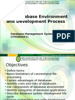 Lesson 1 - The Database Environment and Development Process