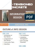 AMSYSCO Contractor Info Session Post Tensioning
