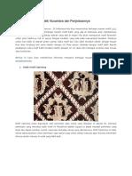 Batik Nusantara Dan Penjelasannya