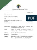 Constitutional Court judgment