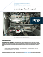 Electrical-Engineering-portal.com-Important Points About Grounding of Electronic Equipment