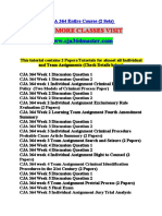 CJA 364 MASTER Expect Sucess/cja364master.com