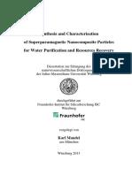 Karl Mandel Dissertation