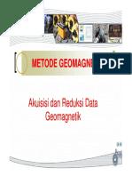 Pertemuan 7 dan 8 Metode Geomagnet Aquisisi [Compatibility Mode].pdf