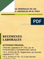 LEGISLACION LABORAL PERUANA