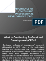 Importance of Continuing Professional Development (CPD)