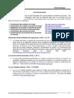 Les Lois Du Travail QBC