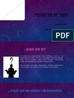 proyecto de vida  Claritza