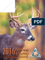 2016 Fall deer and Turkey Hunting regulations and information