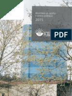 Relatório de Gestão e Conta Gerência 2015