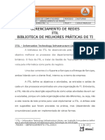 Redes - Gerenciamento Itil