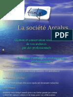 ARCALYS-Archivage-Presentation.ppt