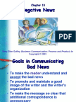 Biz Com Chapter 10-Negative Messages