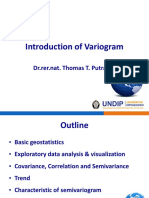 Introduction of Variogram Pak Thomas