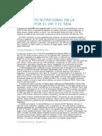 Tratamiento Nutricional en La Infeccion Por El Vih y El Sida Nuevo