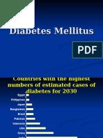 Diabetes Mellitus Lecture-update