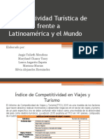 Competitividad Turística de Colombia Frente a Latinoamérica