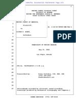 06-10-2016 ECF 518 USA v Cliven Bundy - Transcript of Proceedings Held on 5-25-16