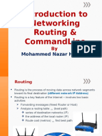 Introduction to Networking Lab 12 - 13 Routing and Packet Tracer Manual