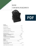 User Manual Plml250scn