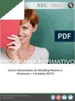 Curso Universitario de Wedding Planner y Protocolo + 4 Créditos ECTS