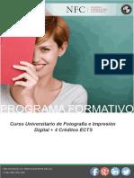 Curso Universitario de Fotografía e Impresión Digital + 4 Créditos ECTS