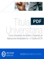 Curso Universitario de Gestión y Desarrollo de Aplicaciones Multiplataforma + 4 Créditos ECTS