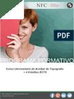Curso Universitario de Auxiliar de Topografía + 4 Créditos ECTS