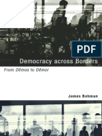 Bohman, James -Democracy Across Borders From Dêmos to Dêmoi
