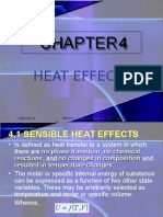 Thermo Heat Effects