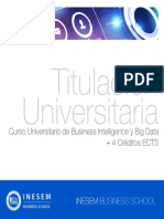 Curso Universitario de Business Intelligence y Big Data + 4 Créditos ECTS