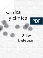 Deleuze, Crítica y Clínica (Frag)
