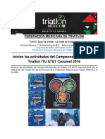 Actividades del Campeonato Mundial de Triatlón Cozumel 2016.pdf