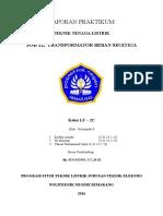 Laporan JOB.12 Trafo Beban Segitiga - LT-2C