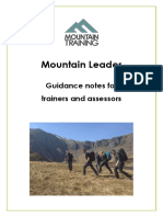 ML Guidance for Trainers and Assessors July 2015