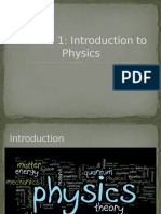 Lecture 1-Introduction to Physics