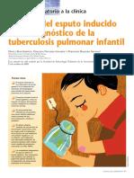 utilidad del esputo inducido en tb poblacion pediatrica
