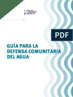 Guia Defensa Com Unit Aria Del Agua