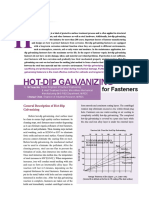Hot Dip Galvanizing for Fasteners