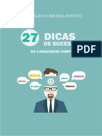 LC Em Foco 27 Dicas de Sucesso Da Linguagem Corporal