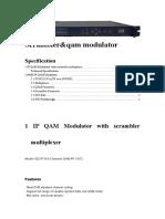 Ip-4 Scrambler QAM Modulator