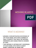 Basics of Meshing