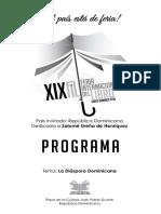 Programa FIL2016