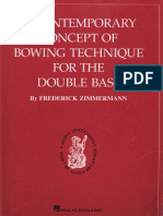 Zimmermann - a Contemporary Concept of Bowing Technique for Double Bass