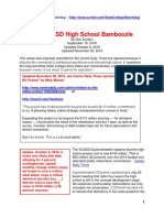 The SCASD High School Bamboozle