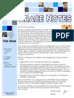 March 2016 Grace Notes