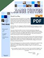 January 2016 Grace Notes