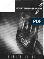 Innovations Battery Manager Ultra User's Guide